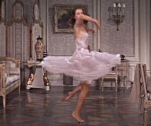ballerina, old movie, and classy lady image