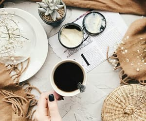 autumn coffee image