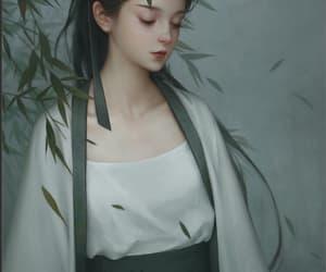 anime, art, and chinese girl image