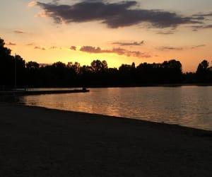 eau, summer, and île image
