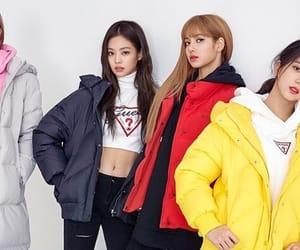 lisa, jennie kim, and jisoo image