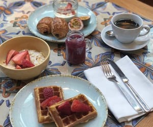 breakfast, yummy, and delicious image