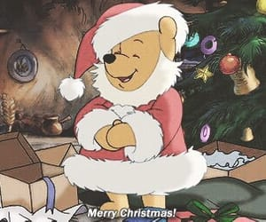 christmas, family, and pooh image