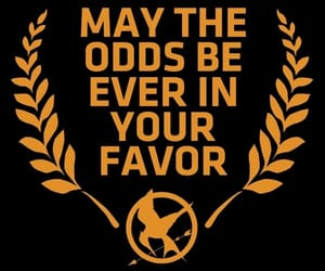 quote, hunger games, and citation image