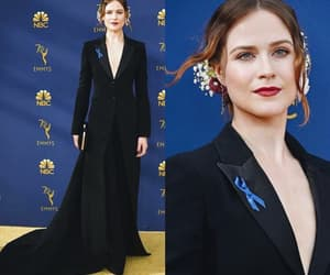 actress, black dress, and flawless image