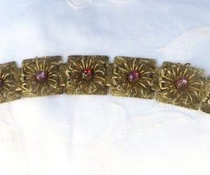 etsy, vintage bracelet, and book chain bracelet image
