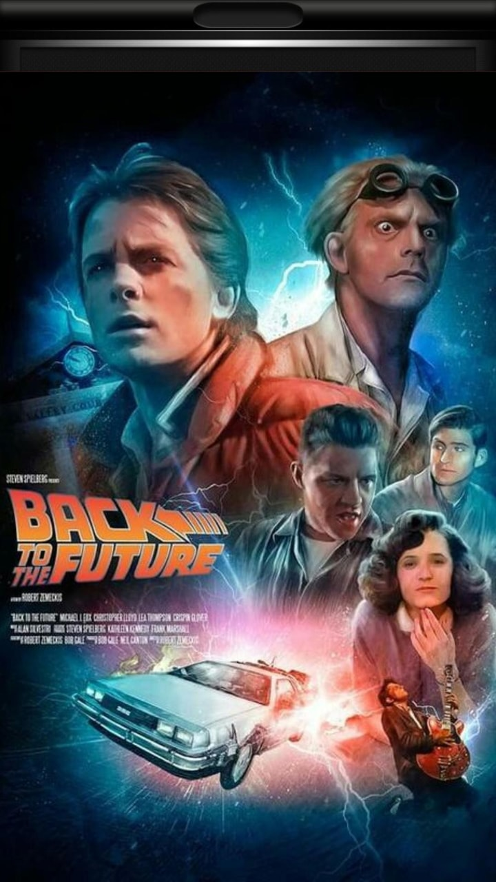 Back To The Future Wallpaper On We Heart It
