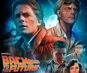 Back to the Future, doc, and marty image