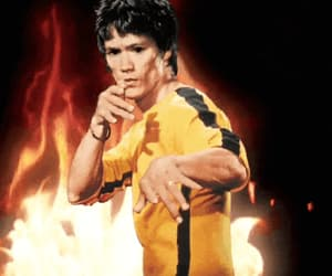 actor, bruce lee, and enter the dragon image