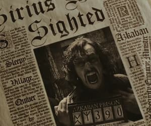 azkaban, film, and newspaper image