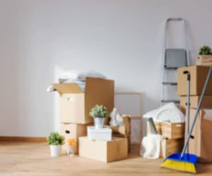 office cleaning london, house cleaning london, and removal van london image