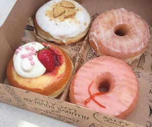 donuts, doughnuts, and food image