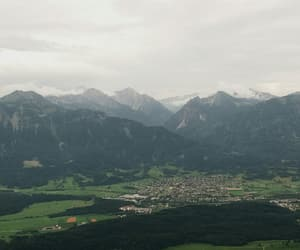 austria, clouds, and mountains image