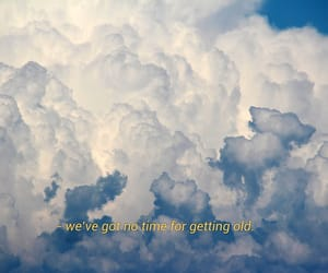 blue, clouds, and quotes image