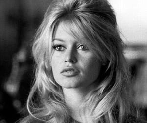 actress, hairstyle, and black and white image