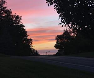 sky, sun, and sunrise image