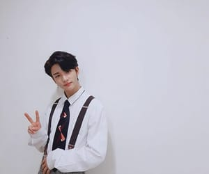 hyunjin, cute, and stray kids image