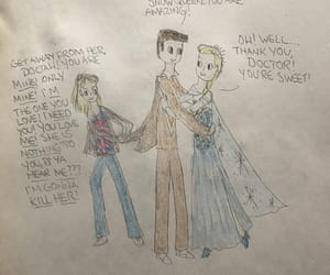 rose tyler, jealousy, and snow queen image