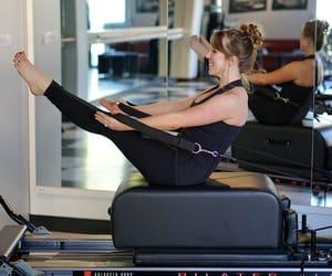 exercise, pilates, and exercises image