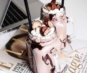 chocolate, magazine, and work image