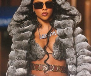Lil' Kim on set of «Came Back For You» on January 25th, 2003 (New York)