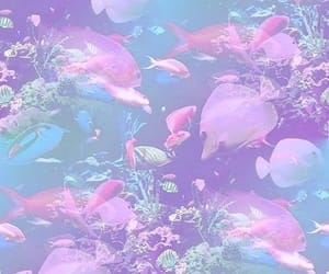 aesthetic, fishes, and ocean image