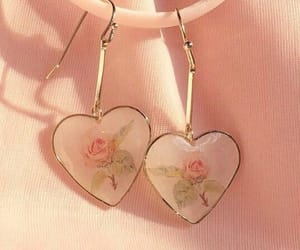 accessory, heart, and rose image