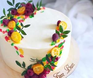 art, birthday, and dessert image