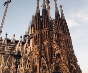 Barcelona, cathedral, and Gaudi image
