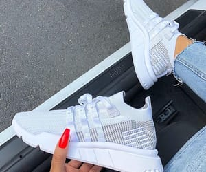 sneakers, want, and white shoes image