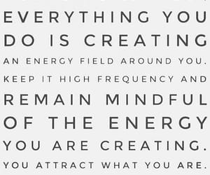 attraction, creating, and mindful image