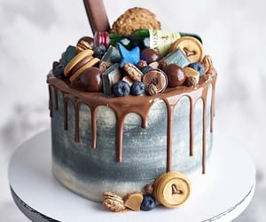 art, cake, and cakes image