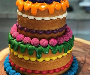 art, cupcakes, and dessert image