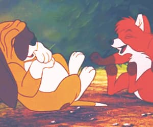 disney, family, and the fox and the hound image