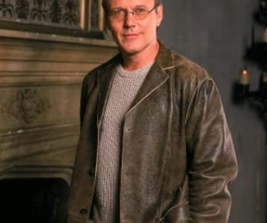 rupert giles and buffy the vampire slayer image