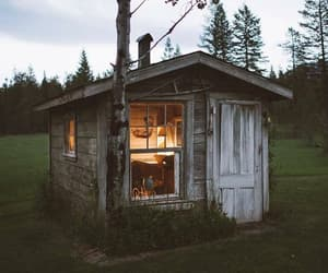 beautiful, cabin, and field image