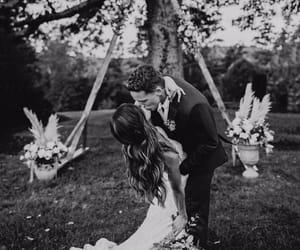 couple, wedding, and nf image