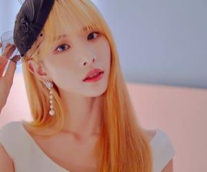 blonde, korean, and cosmic girl image
