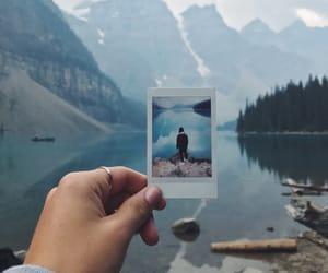 beautiful, lake, and canada image