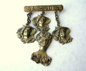 costume jewelry, etsy, and antique jewelry image