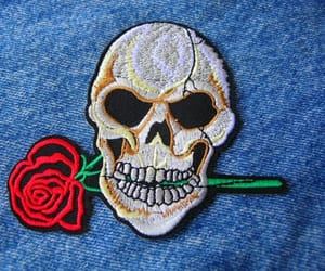 etsy, 1980s fashion, and jean jacket patch image