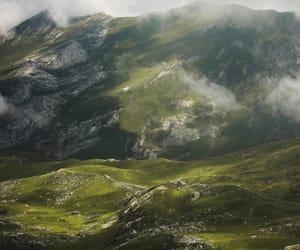adventure, clouds, and landscape image