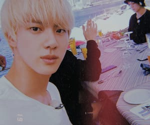 jin, selca, and seokjin image