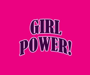 aesthetic, girl power, and words image