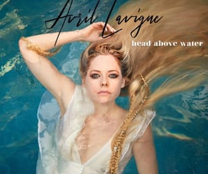 Avril Lavigne, music, and head above water image