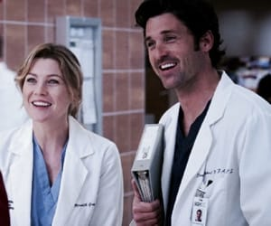 couple, doctor, and greys anatomy image