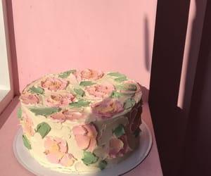 cake, dessert, and pink image
