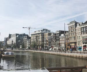 netherlands, amsterdam, and boat image