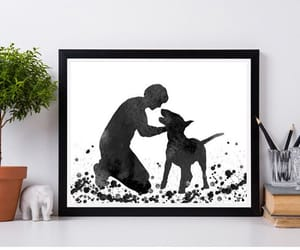 dog, etsy, and gift for him image