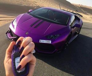 car, luxury, and purple image